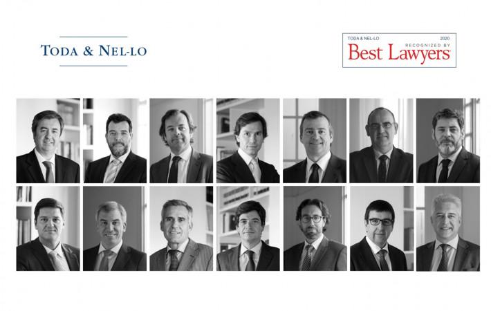 catorce socios de Toda & Nel-lo ranking Best Lawyers