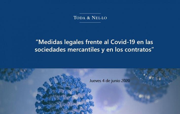 webinar mercantil Toda Nel-lo contractual societario