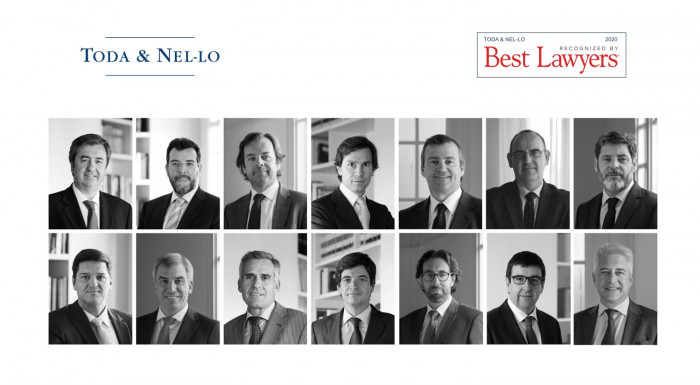catorce socios de Toda & Nel-lo ranking Best Lawyers