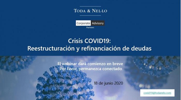 Toda & Nel-lo webinar refinanciacion deuda