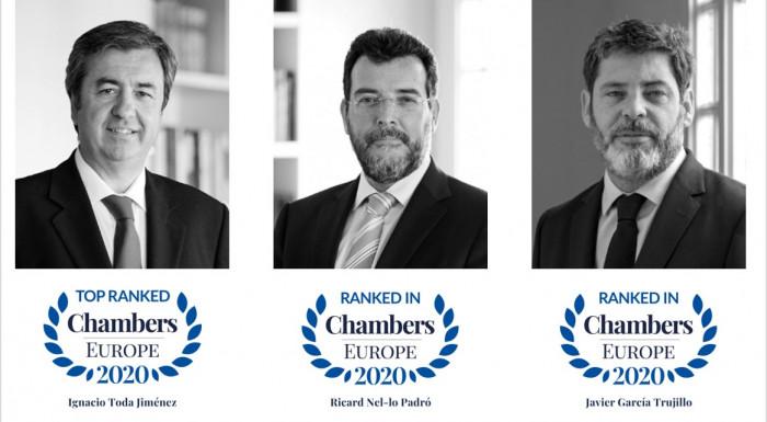 Toda & Nel-lo ranking chambers derecho publico