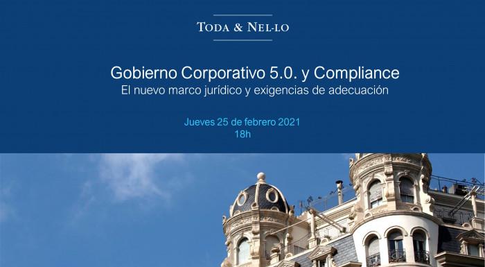webinar gobierno corporativo compliance Toda & Nel-lo